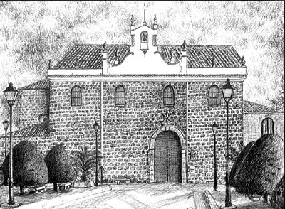 La ermita se sitúa en un llano, el Llano de la Estrella, como se le conoce popularmente, por el que discurre un minúsculo arroyuelo también con el nombre de Estrella.