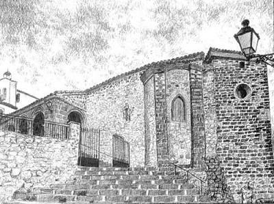 Iglesia de Santa María de Santisteban del Puerto, pueblo con una historia que comienza en la era de los dinosaurios
