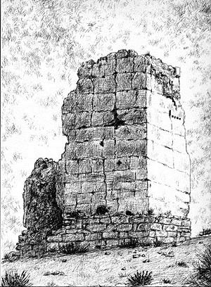 Castillo del Giribaile, Viches. Castillo de gran transcendencia durante la época islámica